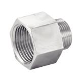 01 - Threaded pipe fittings - BENE INOX - Stainless steel valves