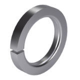 Single coil spring washer DIN 7980 18 - Fabory - Free 3D CAD Models