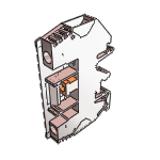 Test-disconnect terminals - Weidmueller - Free 3D CAD Models