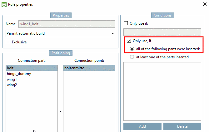 PARTsolutions application -> Help menu
