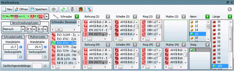 "Connection dialog: ""Preferred rows on/off"" ON: Holes are displayed - although ""red"""
