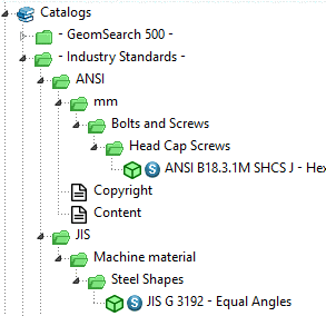 Show single parts tables in assembly tables