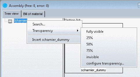 "Part view - ""Links"" dialog box"