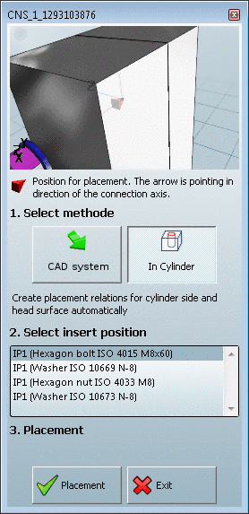 PARTsolutions menu exemplified with Inventor