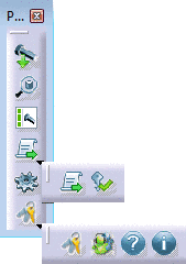 Toolbar with Part Design