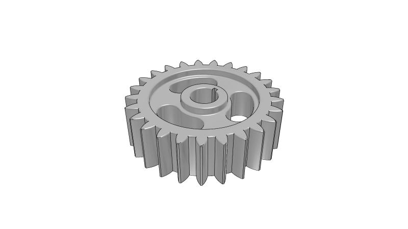 Gear - 3D CAD Models & 2D Drawings