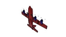 IAI Kfir - 3D Vehicle - 3D Data
