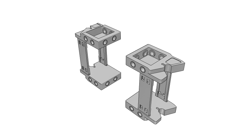 Cable carrier - 3D CAD Models & 2D Drawings
