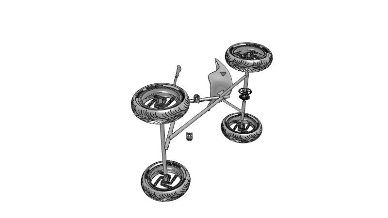 All-terrain vehicle - 3D Vehicle - 3D Data