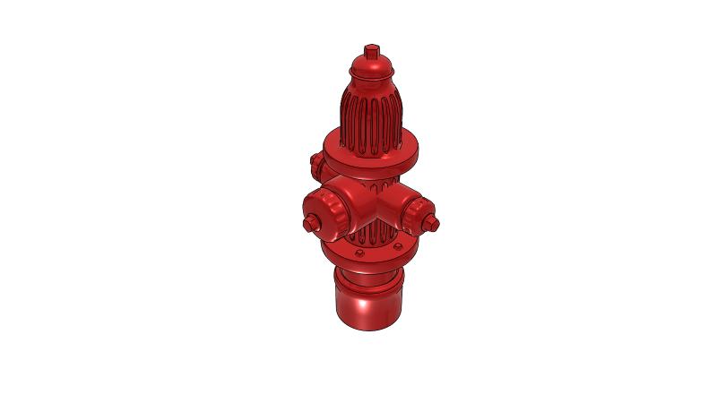 Fire hydrant - 3D CAD Models & 2D Drawings