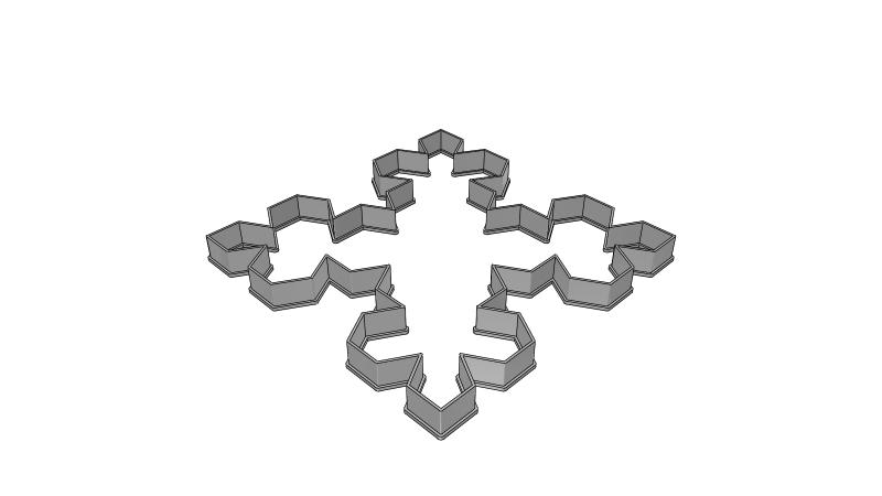 Snowflake 3d Libary 3d Data