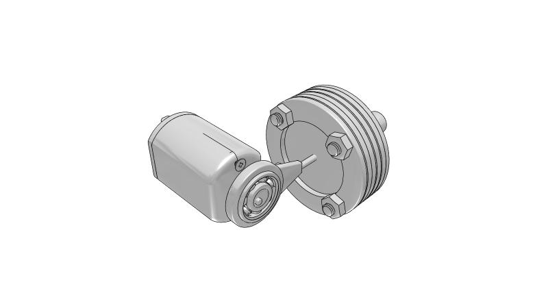 Vacuum pump - 3D CAD Models & 2D Drawings