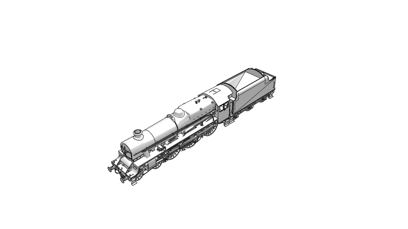 LMS Jubilee Class - 3D Vehicle - 3D Data