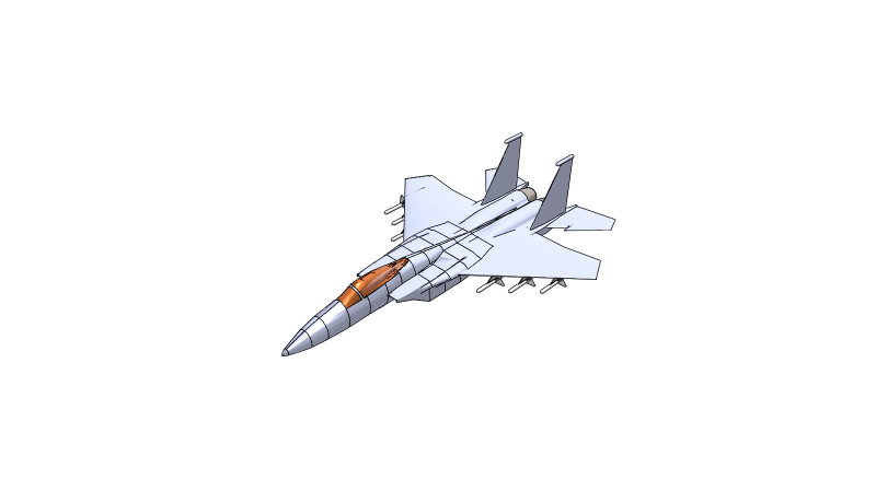 United States Air Force 3D Vehicle 3D Data