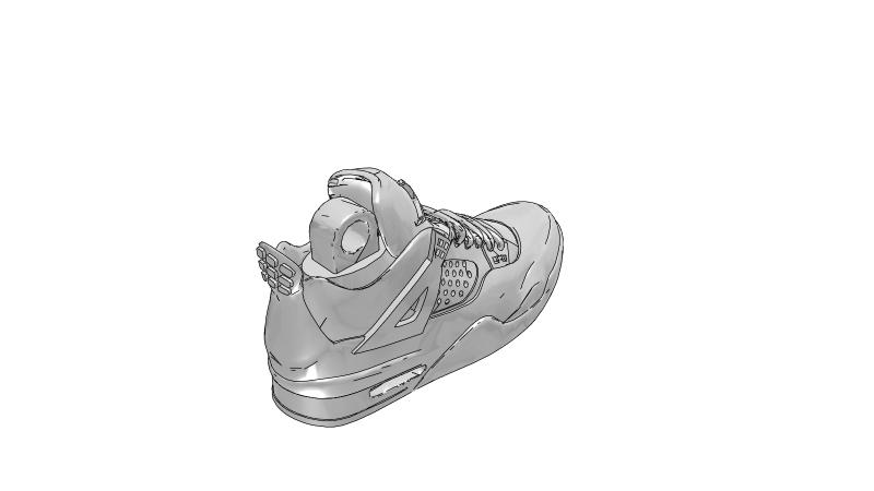 Puma Basket Platform Big Velcro Strap in White