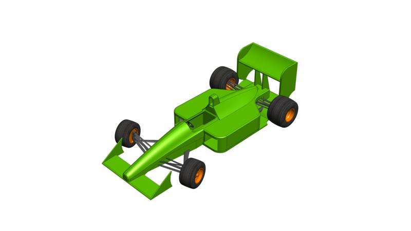 Formula one - 3D Model 4 Sport