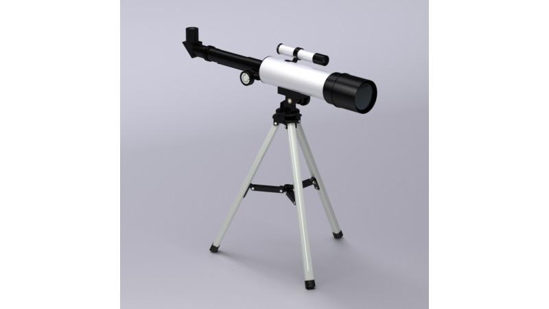 Teleskop d cad models d drawings