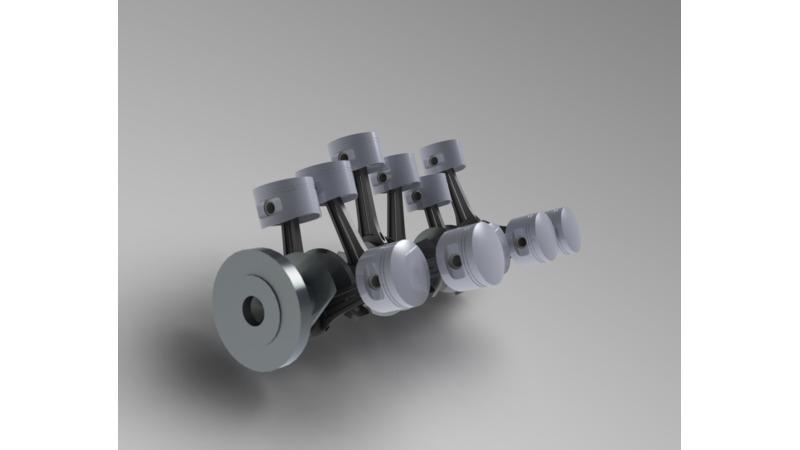 内燃機関 - 3D CAD Models & 2D Drawings