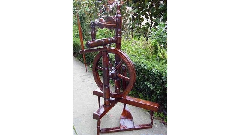 Spinning wheel - 3D Mesh