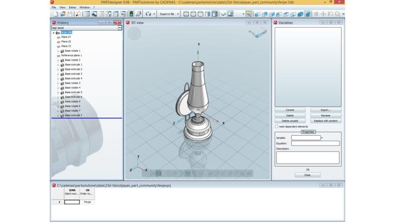 Kerosene lamp - 3D Libary - 3D Data