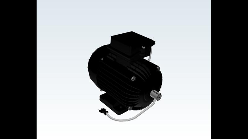 Electric motor - 3D CAD Models & 2D Drawings