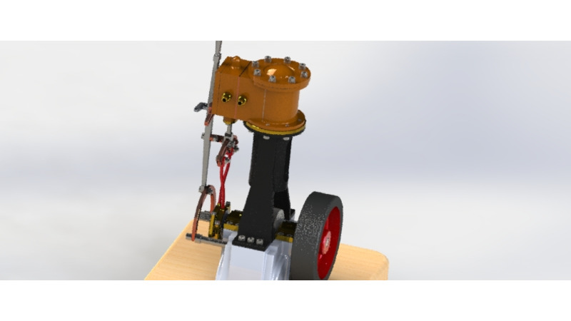 Steam engine - 3D CAD Models & 2D Drawings
