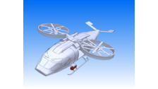 Helicopter Rotor 3d Vehicle 3d Data