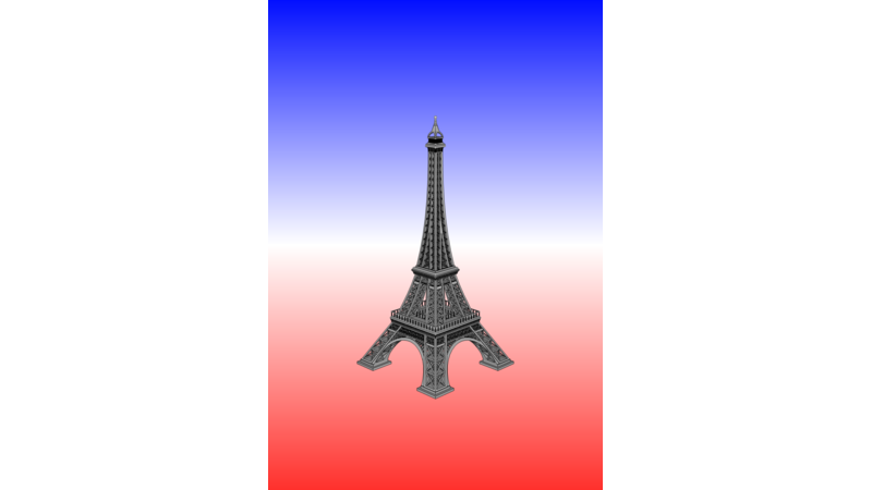 Paris 3d Map 3d Panorama Gis