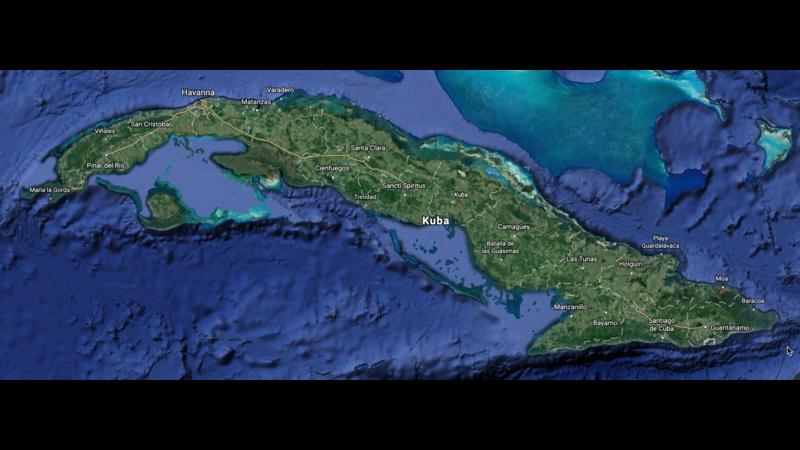 Cuba - 3D Map - 3D Panorama - GIS