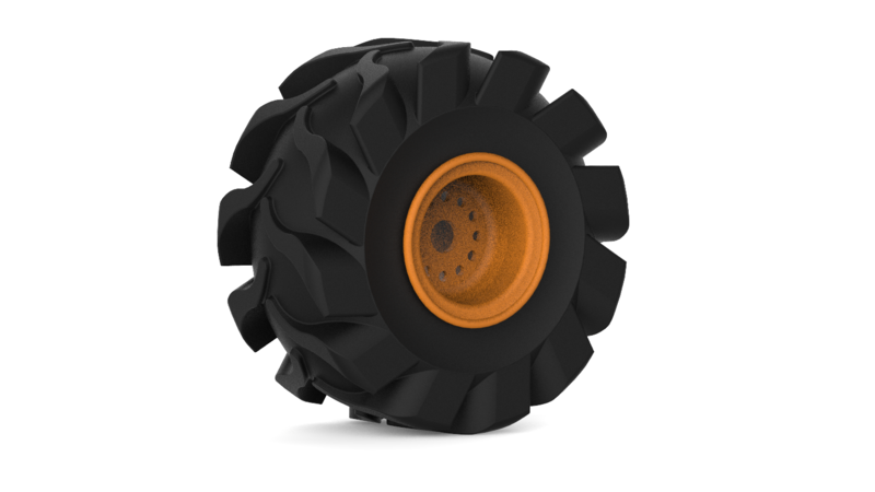Run flat tire 3D Tool 3D Manufacturing