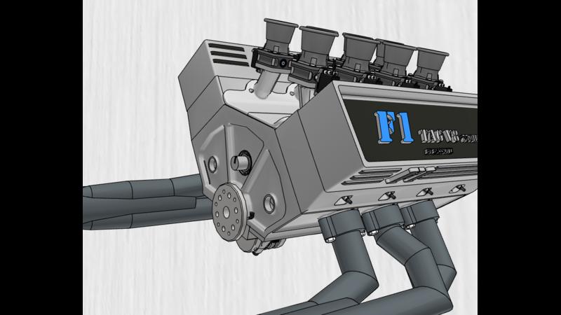 Diesel engine - 3D CAD Models & 2D Drawings