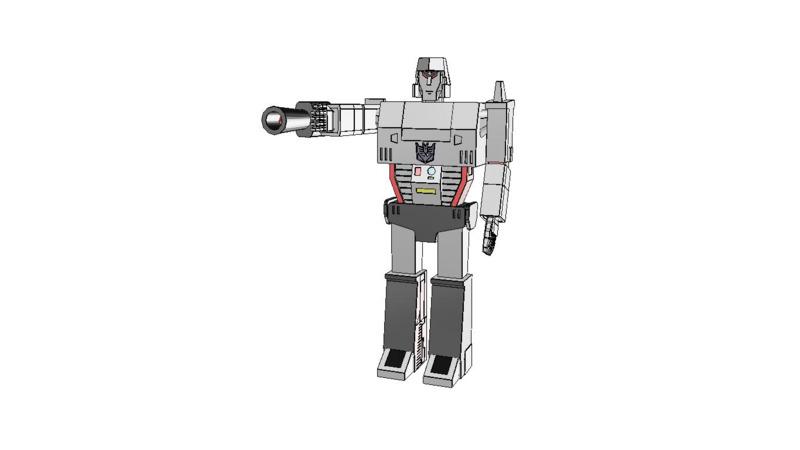 Megatron - 2D Symbols - 3D Models