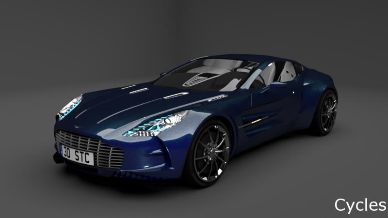 Aston Martin One 77 3d Cars 3d Motor Bikes 3d Trucks