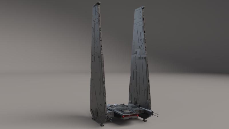 Star Wars - LEGO Kylo Ren's Shuttle - ZiNG Pop Culture | 450x800