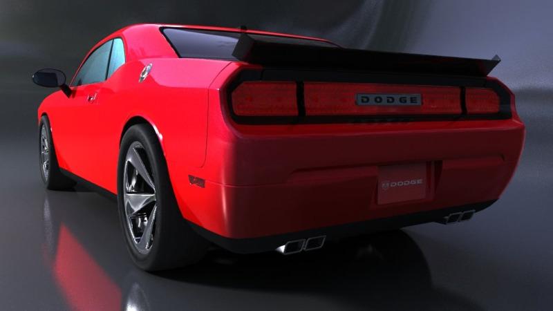 Dodge Challenger - 3D Cars - 3D Motor Bikes - 3D Trucks