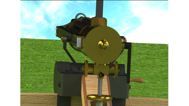 Gatling Gun - History in 3D