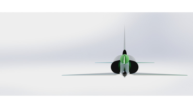 IAI Kfir 3D Vehicle 3D Data