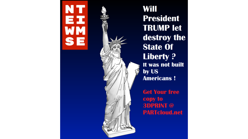 Statue of Liberty - 3D Building - 3D Monument