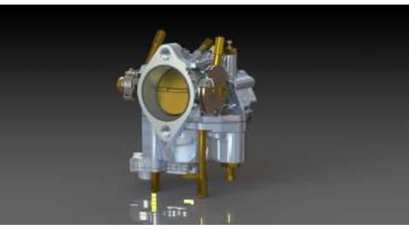 Carburetor - 3D CAD Models & 2D Drawings