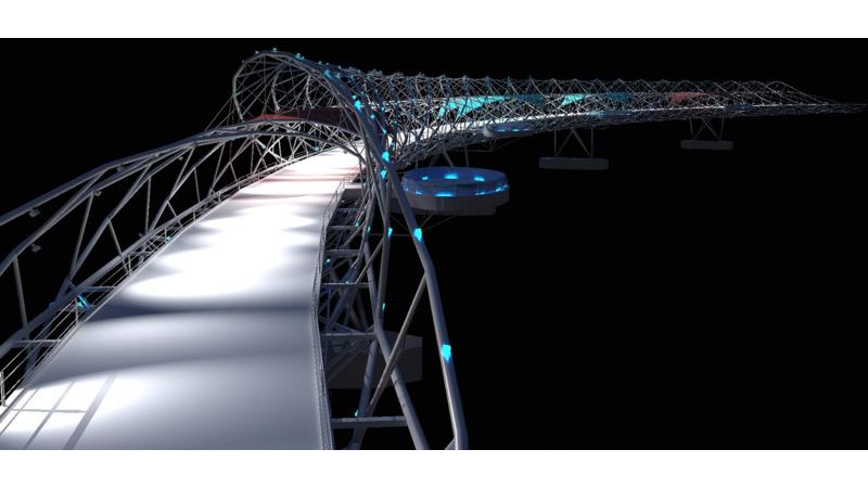 Helix Bridge 3d Bim Objects 3d Bim Components