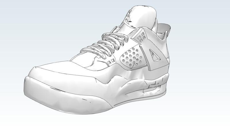 Shoe 3D Fashion 3D Wearables 3D Shoes