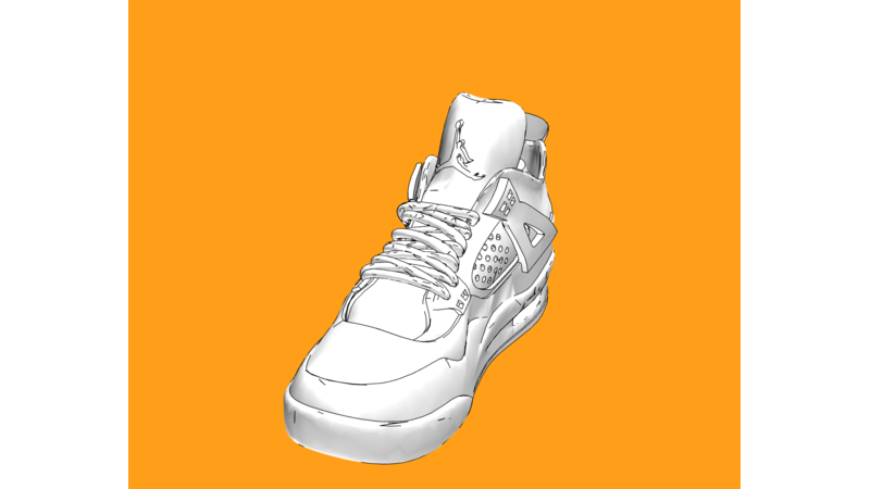 Shoe 3D Fashion 3D Wearables 3D Shoes