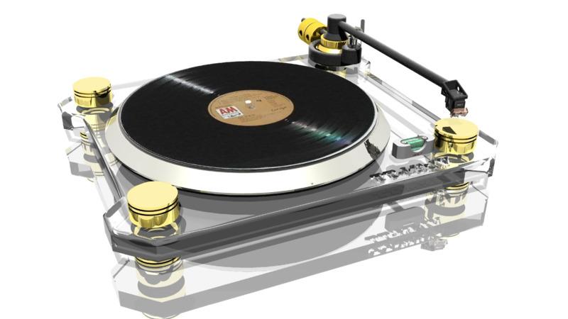 phonograph 3d interior 3d design