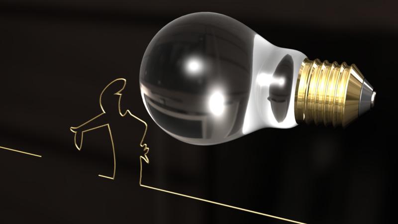 Incandescent Light Bulb Mesh