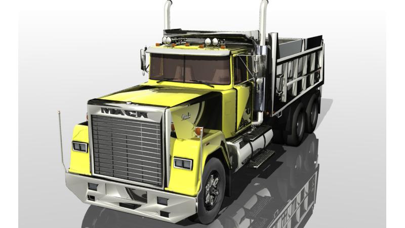 Mack Trucks - 3D Brand