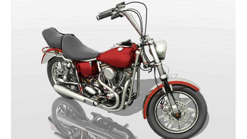 Harley-Davidson - 3D Cars - 3D Motor Bikes - 3D Trucks