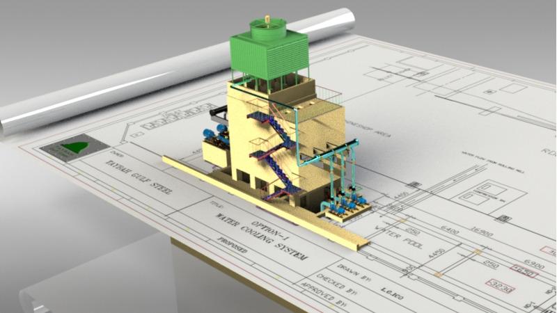 Cooling tower - 3D BIM Objects - 3D BIM Components