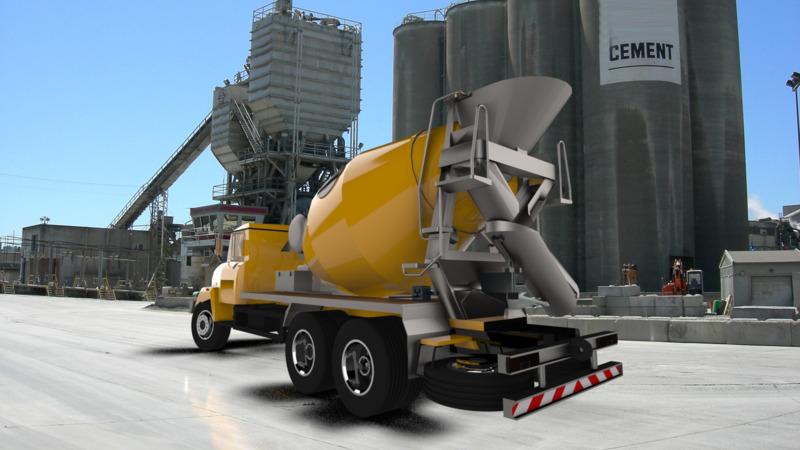 Concrete mixer - 3D CAD Models & 2D Drawings