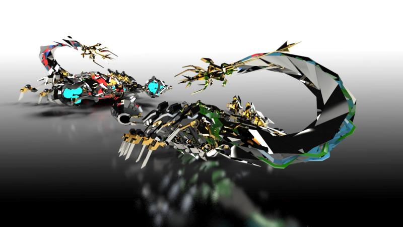 Scorponok - 3D Science Fiction - Fantasy 3D