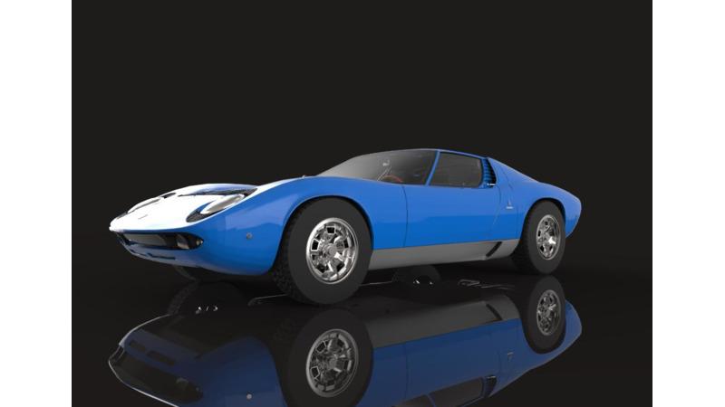 Lamborghini Miura 3d Cars 3d Motor Bikes 3d Trucks